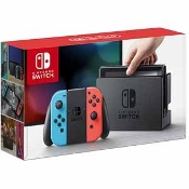 Nintendo - Switch 32GB Console with Neon Red/Neon Blue